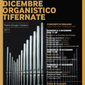 XXVIII DICEMBRE ORGANISTICO TIFERNATECONCERTI D'ORGANO