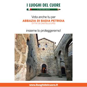 I LUOGHI DEL CUORE – Sosteniamo la candidatura di Badia di Petroia!