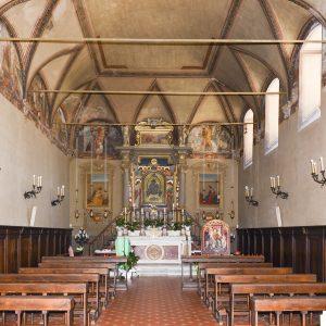 Restauro della cappella della Madonna delle Grazie