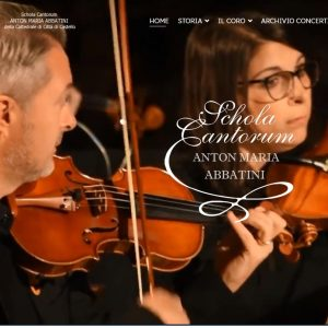"""Nuovo sito per la Schola Cantorum """"Anton Maria Abbatini"""""""