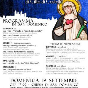 Saluto del vescovo di Città di Castello Domenico Cancian